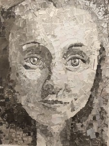 Valerie Tassey - self portrait Grade 10